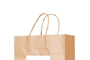 Brown paper bag o