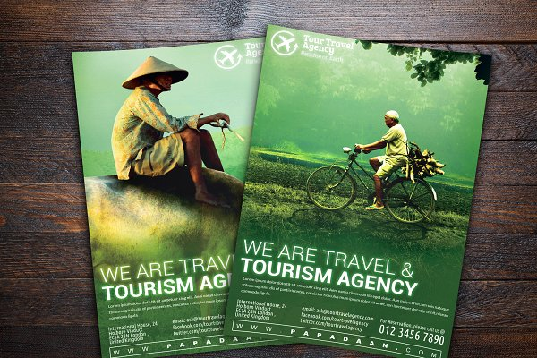 Travel and Tourism Flyer