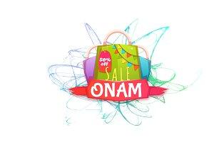 Sale Onam banner