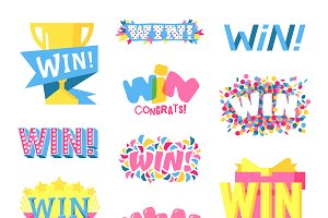 Win text vector set