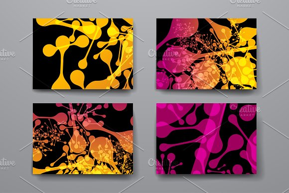 Abstract Templates and Backgrounds in Textures - product preview 4