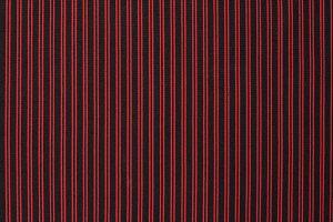 red stripes on black