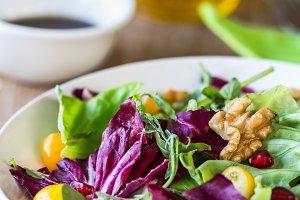 Radicchio with Walnut salad