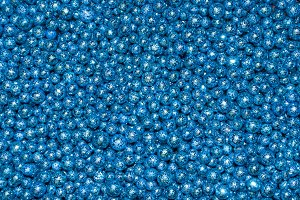 blue balls reflecting