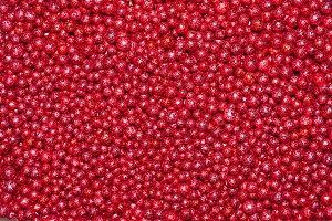 red decoration balls