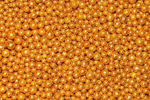 yellow decoration balls