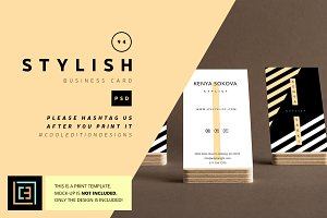 Stylish - Business Card 94