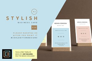 Stylish - Business Card 93