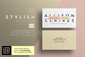 Stylish - Business Card 89