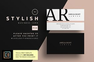 Stylish - Business Card 91