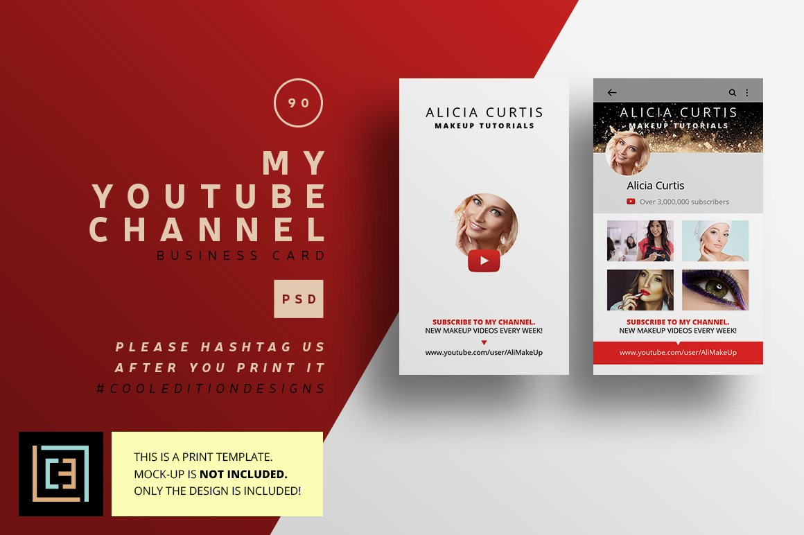 Outstanding Youtube Business Card Composition - Business Card Ideas ...