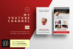 My Youtube Channel Business Card 90