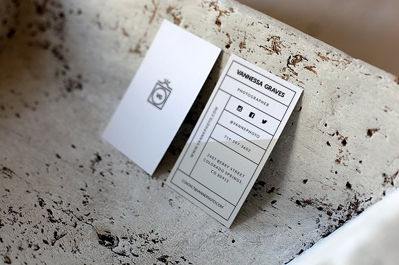10 commandments of business card design creative market blog be aware of your type size colourmoves