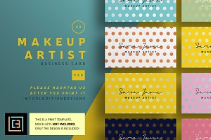 Makeup Artist - Business Card 85