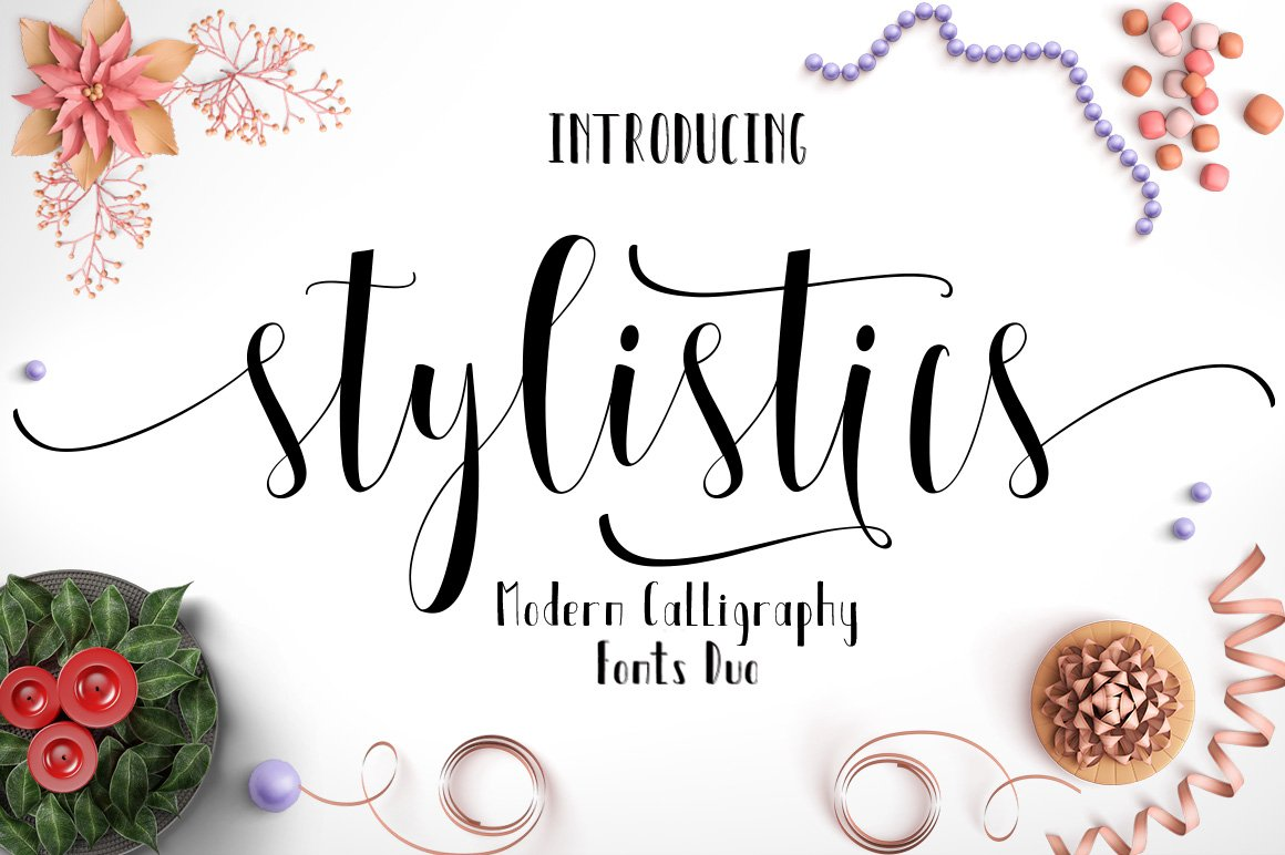 Stylistics script script fonts creative market kristyandbryce Choice Image