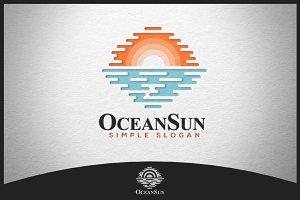 Ocean Sun Logo