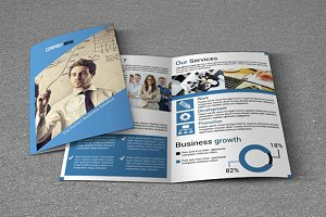 Bi-fold Business Brochure-V20