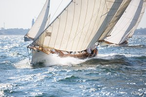 Sailboats - German Classic Regatta