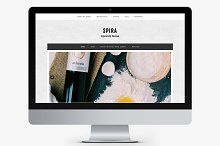 Spira WordPress-Genesis Child Theme by Sonia in Minimal
