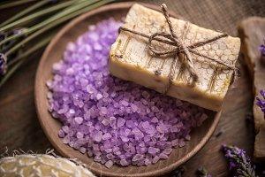 Soap and sea salt