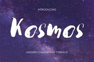 Kosmos - modern brush script