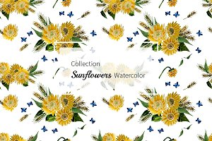 №147 Collection Sunflowers