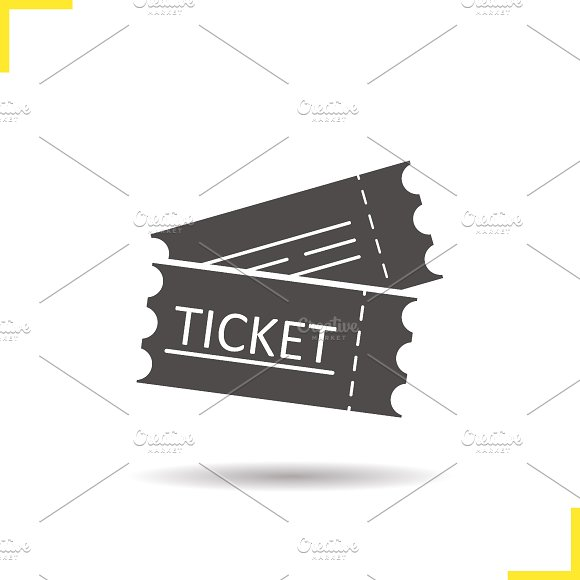 Tickets icon. Vector - Icons