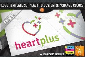 Pixel Plus Heart Care Clinic Logo