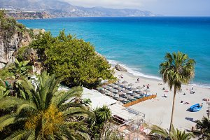 Nerja Beach in Spain