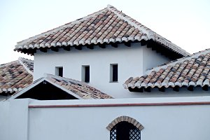 white house in Andalusia