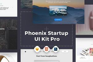 Phoenix Startup UI Kit Pro