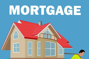 mortgage burden concept