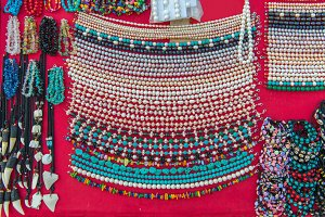 Hand made of Colorful necklaces