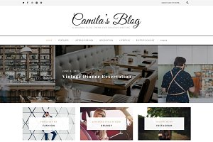Camila - WordPress Blog Theme