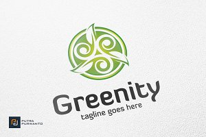 Greenity / Leaf - Logo Template
