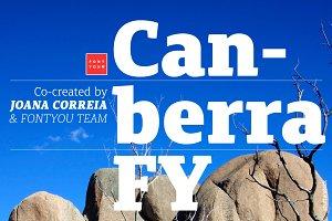 Canberra FY Medium Italic