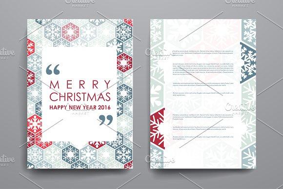 Merry Christmas Brochures - Brochures