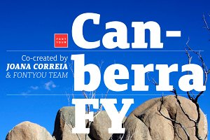 Canberra FY Family (12fonts)