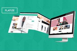 Flatize - E-Commerce HTML5 Template