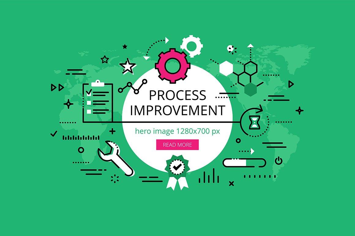 Process Improvement: Process Improvement Banner Set