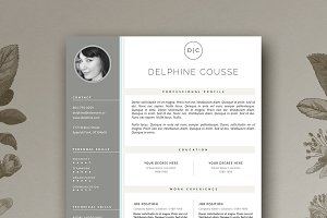 Minimal Resume Template | CV Design
