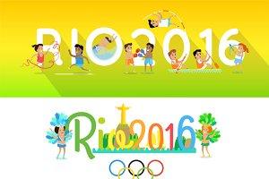 Rio 2016 Concept Banners