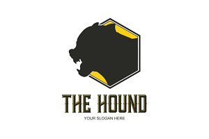 The Hound Logo Design