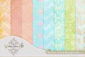 Summer Sorbet Backgrounds