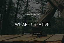 creative-Single page Template