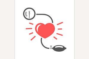 Blood Pressure Logo