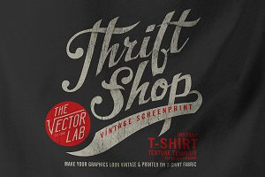 Thrift Shop: Vintage T-Shirt Texture