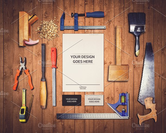 Free Work Tools Mock-up 1