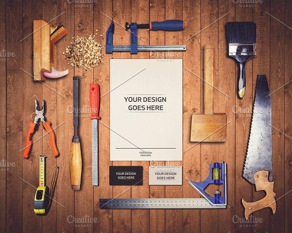 Download Work Tools Mock-up 1