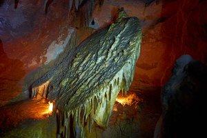 Unique cave formation